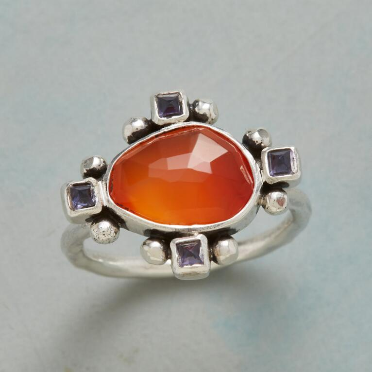 ALL POINTS CARNELIAN RING