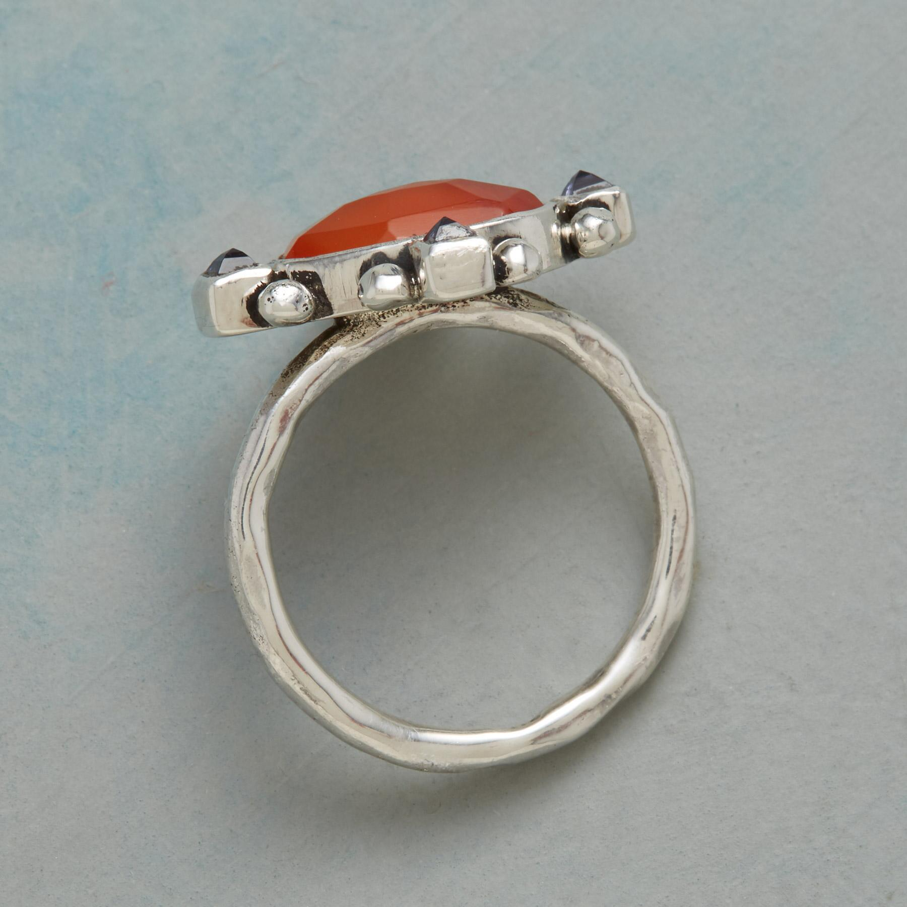ALL POINTS CARNELIAN RING: View 2