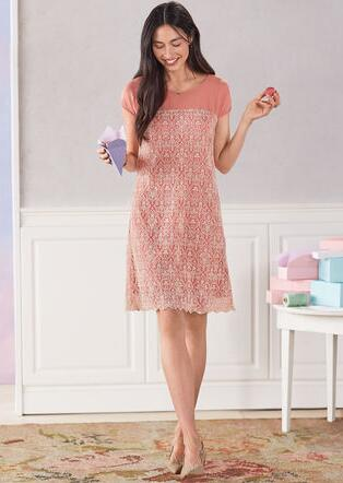 ROSE PALACE DRESS - PETITES