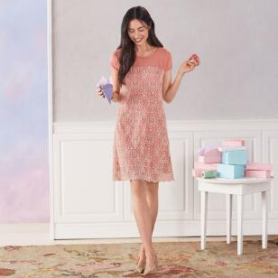 ROSE PALACE DRESS PETITE