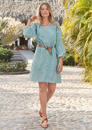 COASTLAND DRESS - PETITES