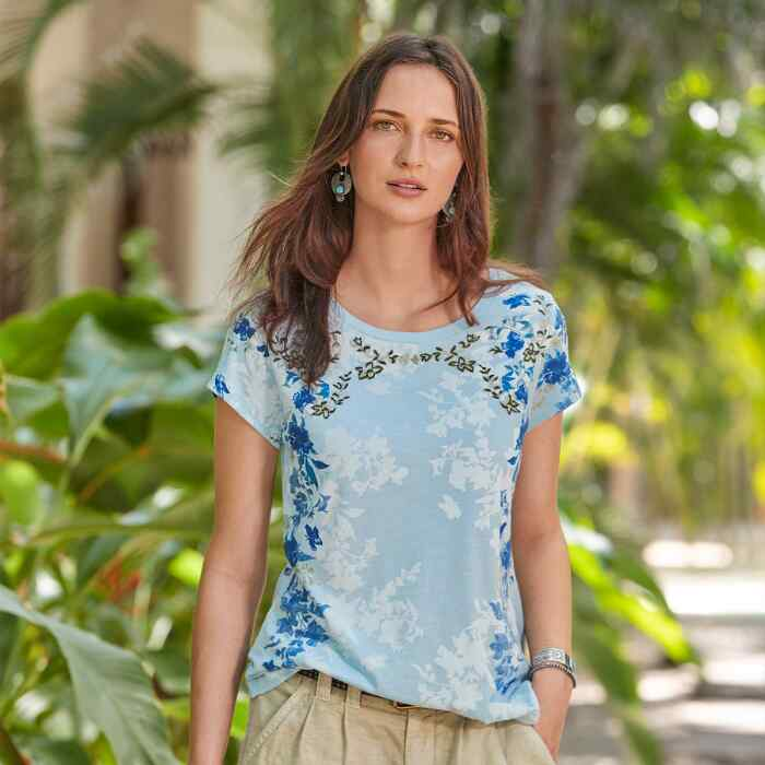 GARDINER PATH SHORT-SLEEVE TEE
