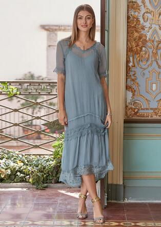 GILDA DRESS - PETITES
