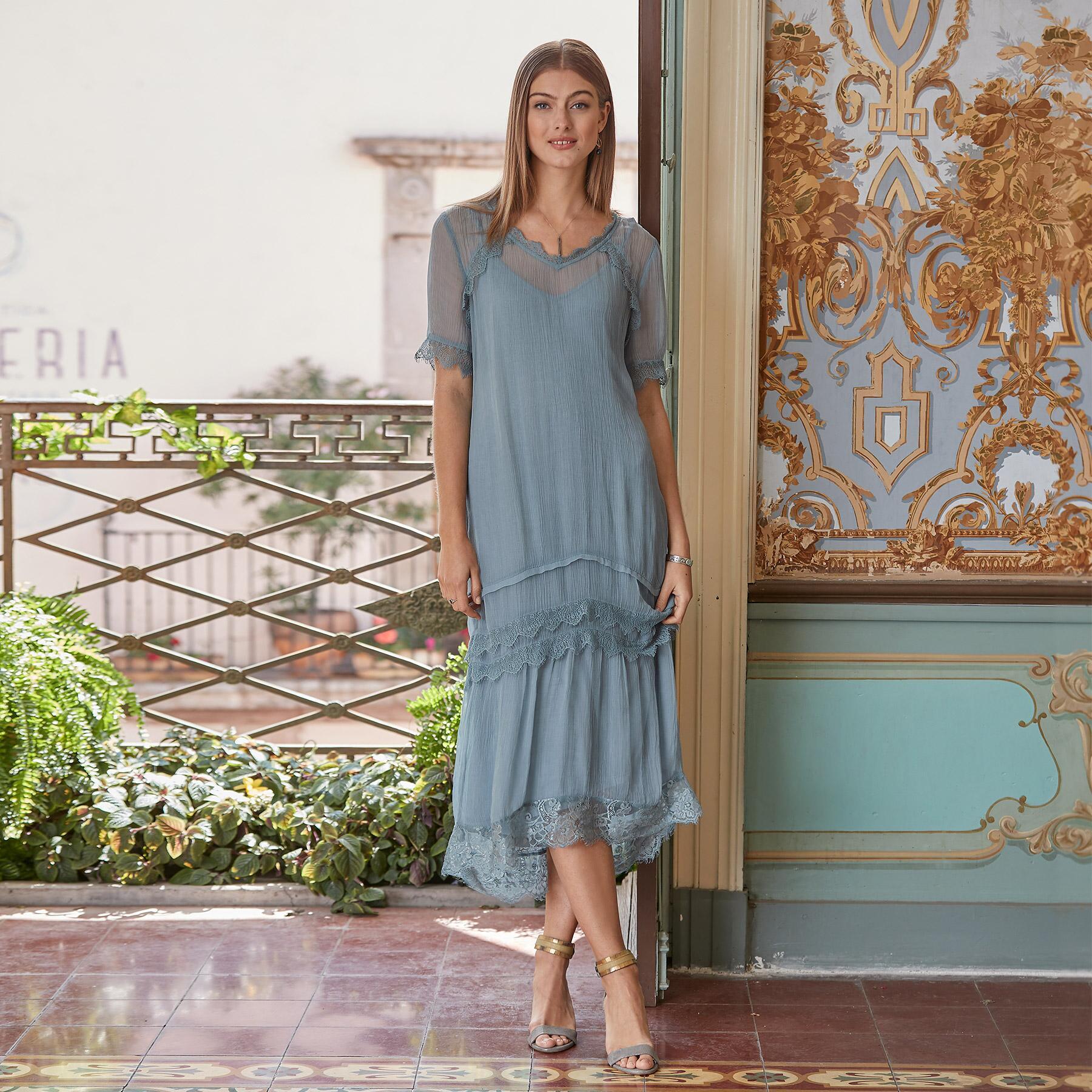 GILDA DRESS - PETITES: View 1
