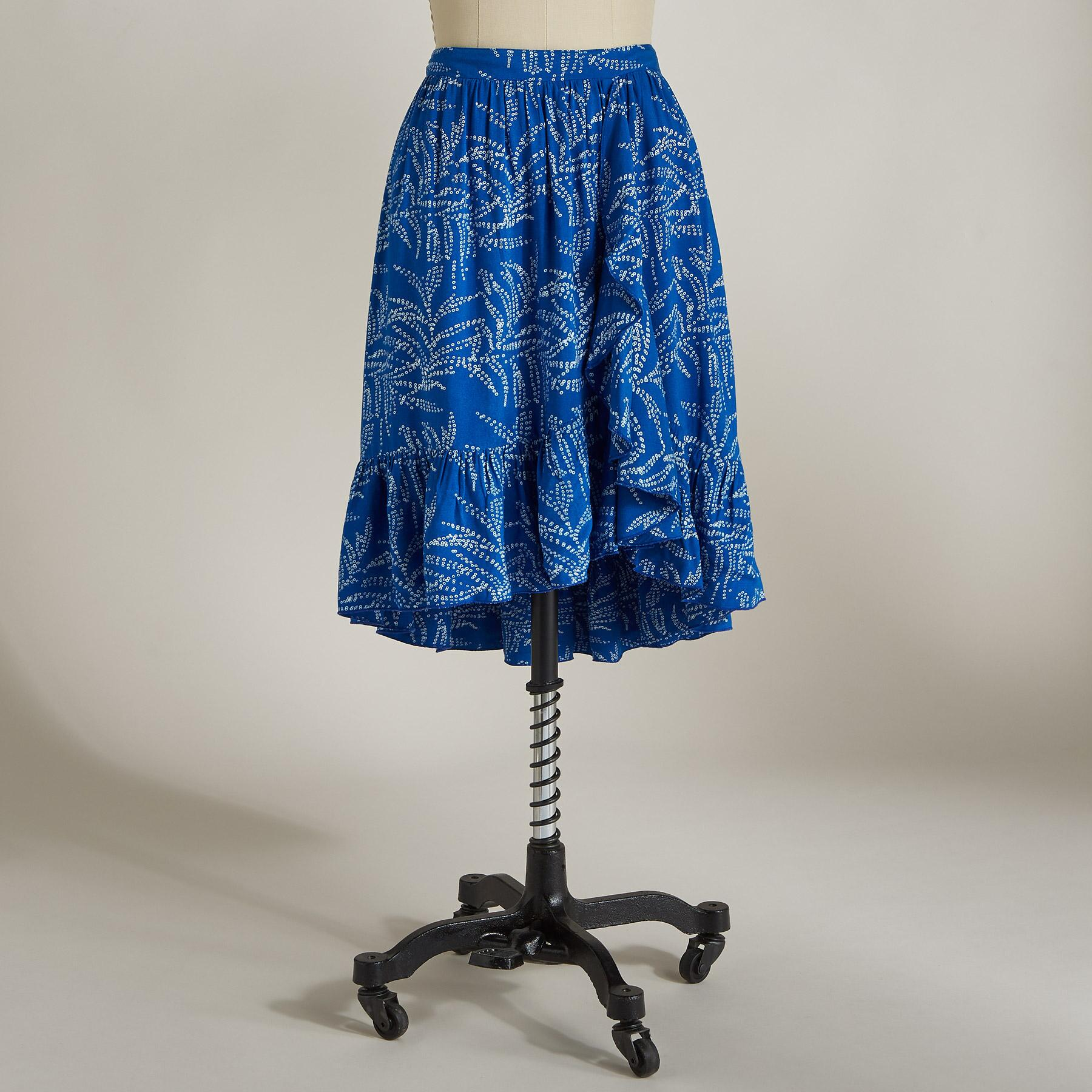CAMILA RUFFLE SKIRT: View 2