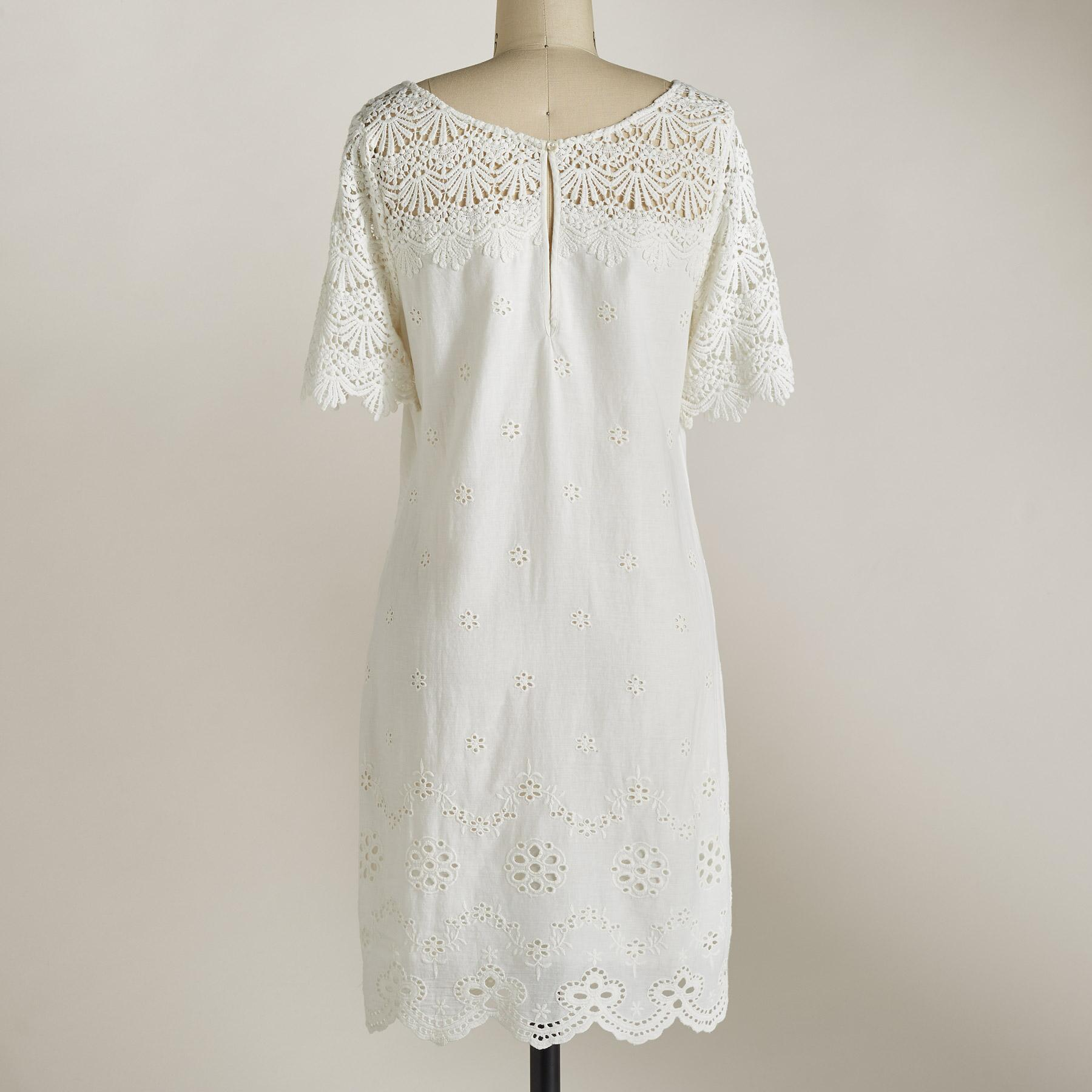 IMPERIAL EYELET DRESS: View 2