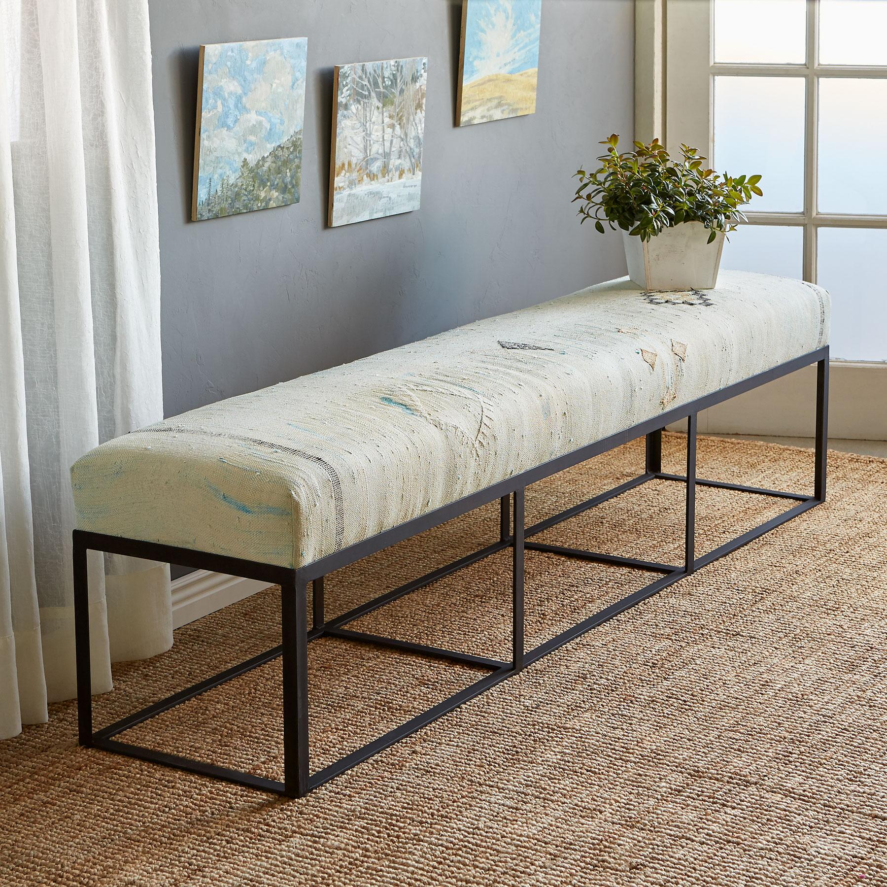 OMAR MOROCCAN BENCH: View 1