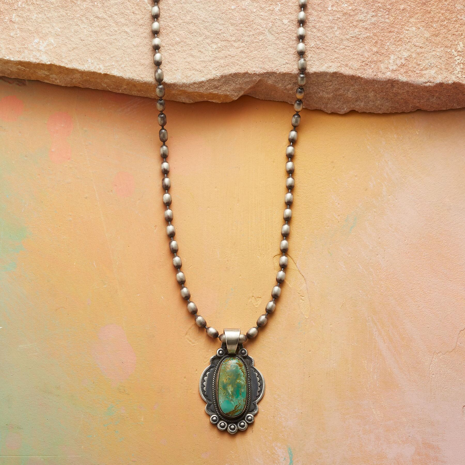 BELLE OF THE WEST NECKLACE: View 1