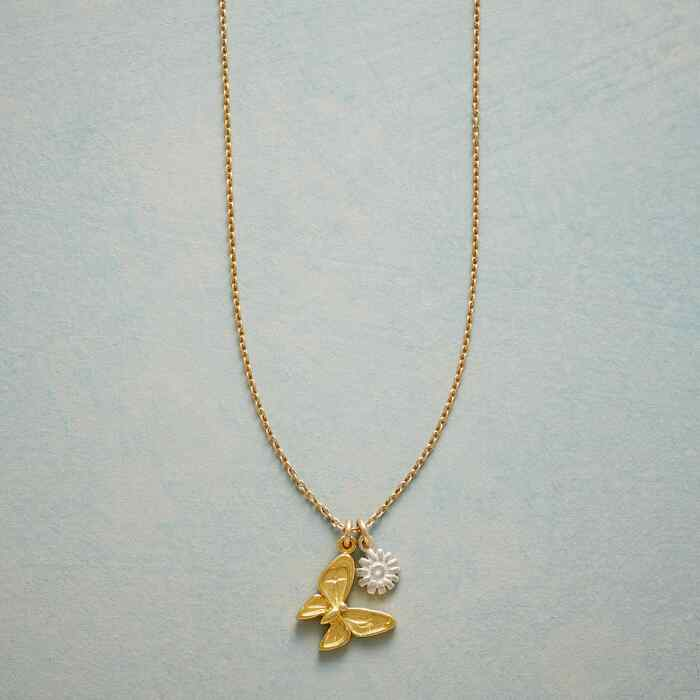 SIMPLY CHARMING BUTTERFLY NECKLACE