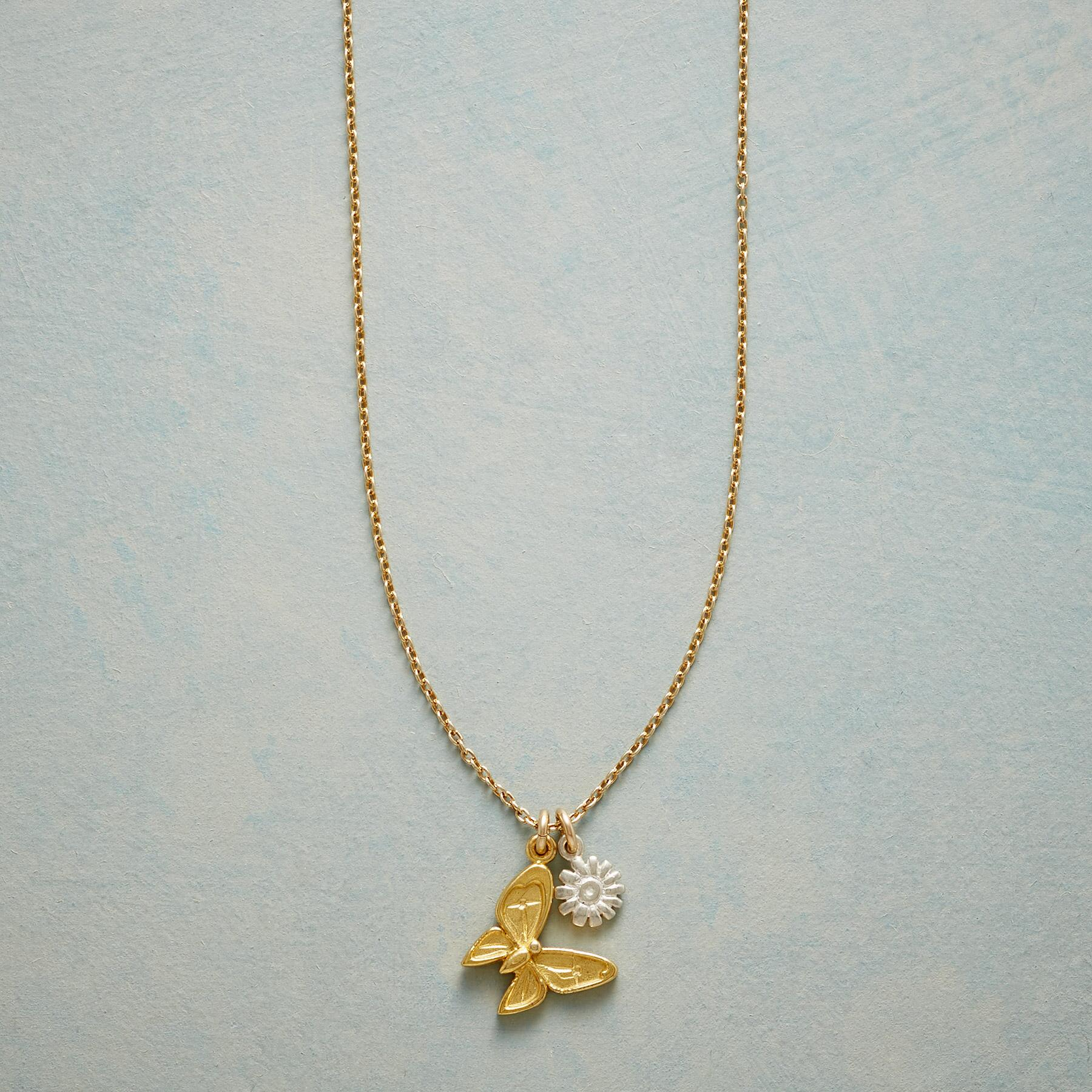BUTTERFLY SIMPLY CHARMING NECKLACE: View 1