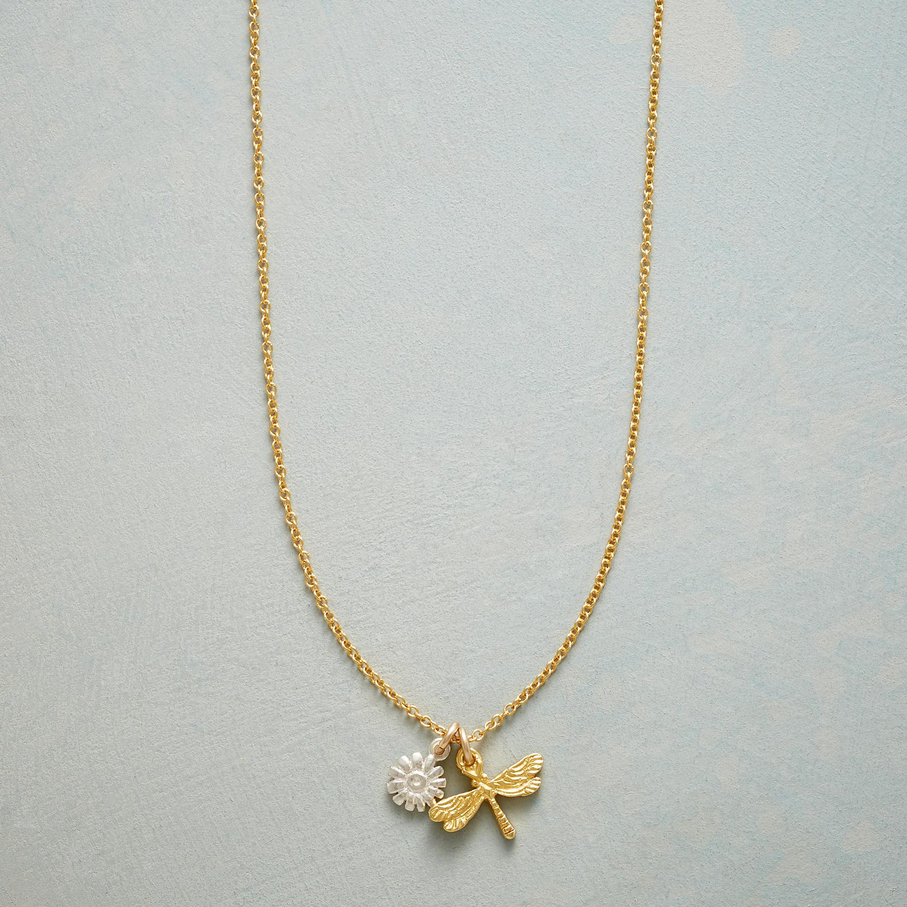 DRAGONFLY SIMPLY CHARMING NECKLACE: View 1