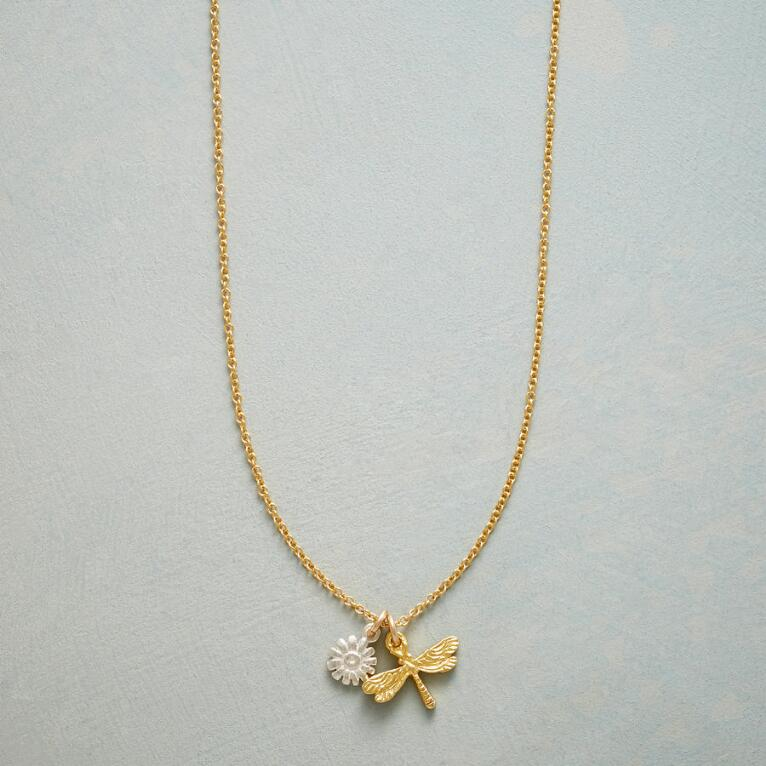 DRAGONFLY SIMPLY CHARMING NECKLACE