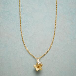 SIMPLY CHARMING PLUMERIA NECKLACE