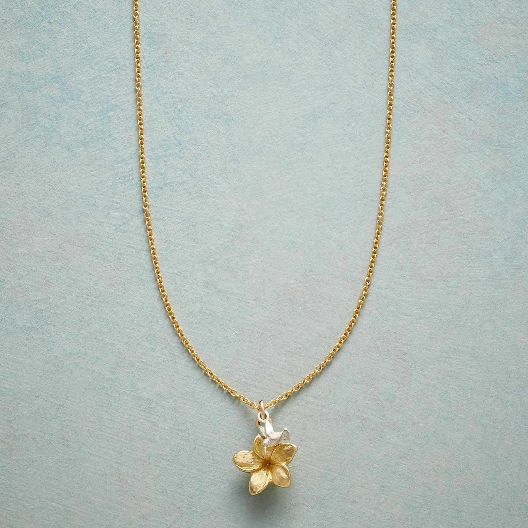 PLUMERIA SIMPLY CHARMING NECKLACE: View 1