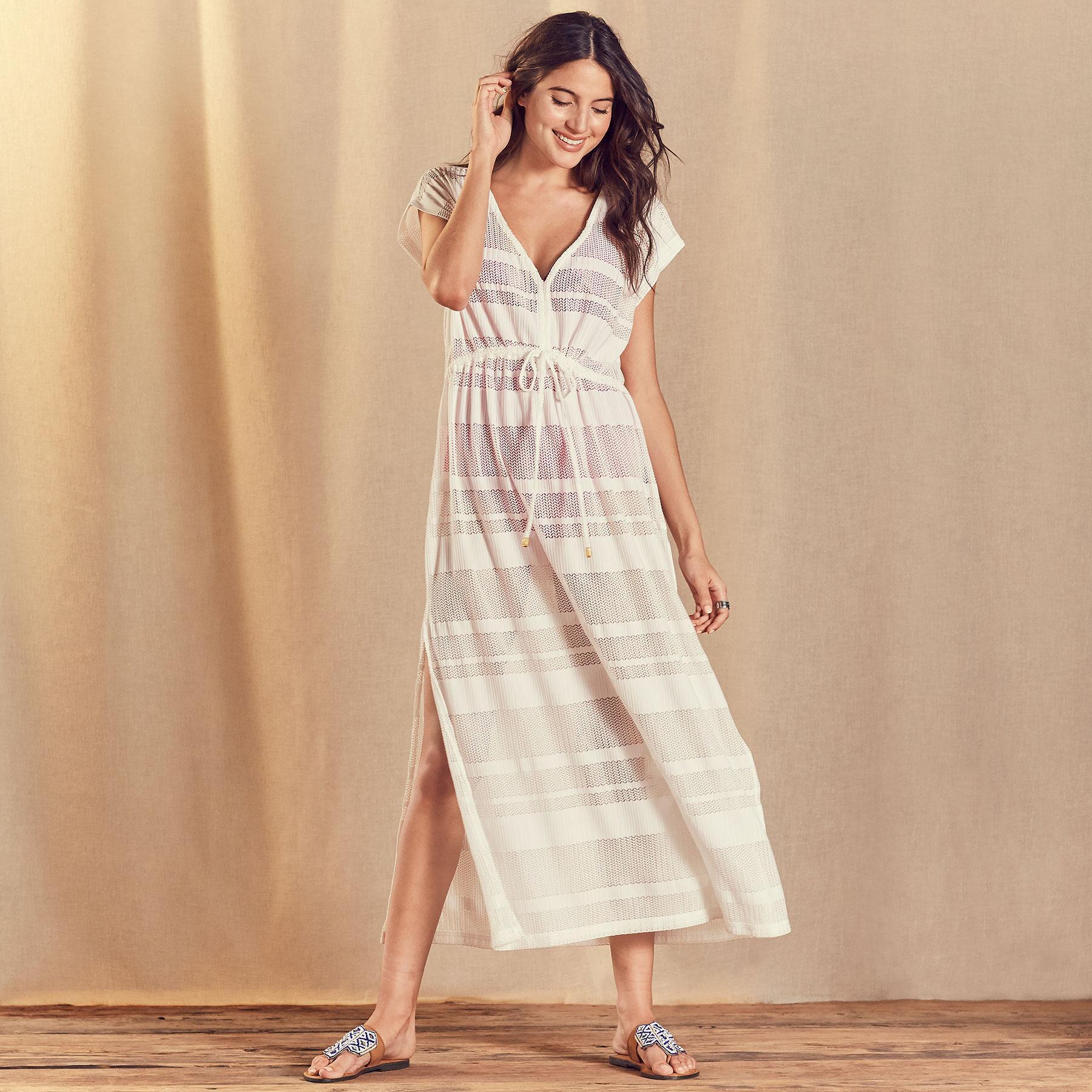 BEACH BREEZE MAXI DRESS: View 1