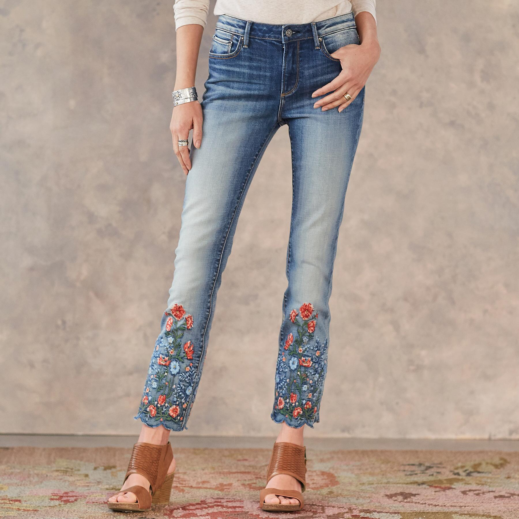 CANDACE GARDEN JEANS: View 1