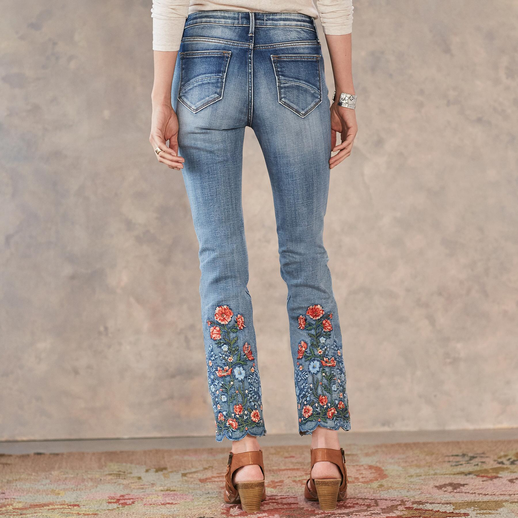 CANDACE GARDEN JEANS: View 2