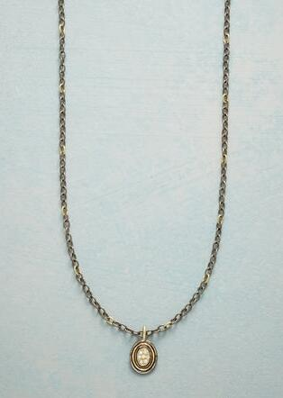 DIAMOND PEBBLE NECKLACE