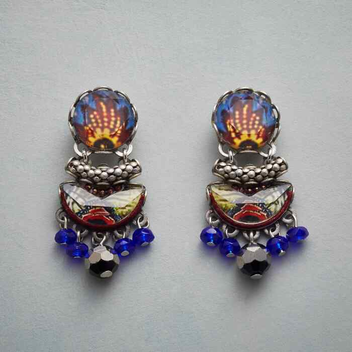DUTCH GARDEN EARRINGS