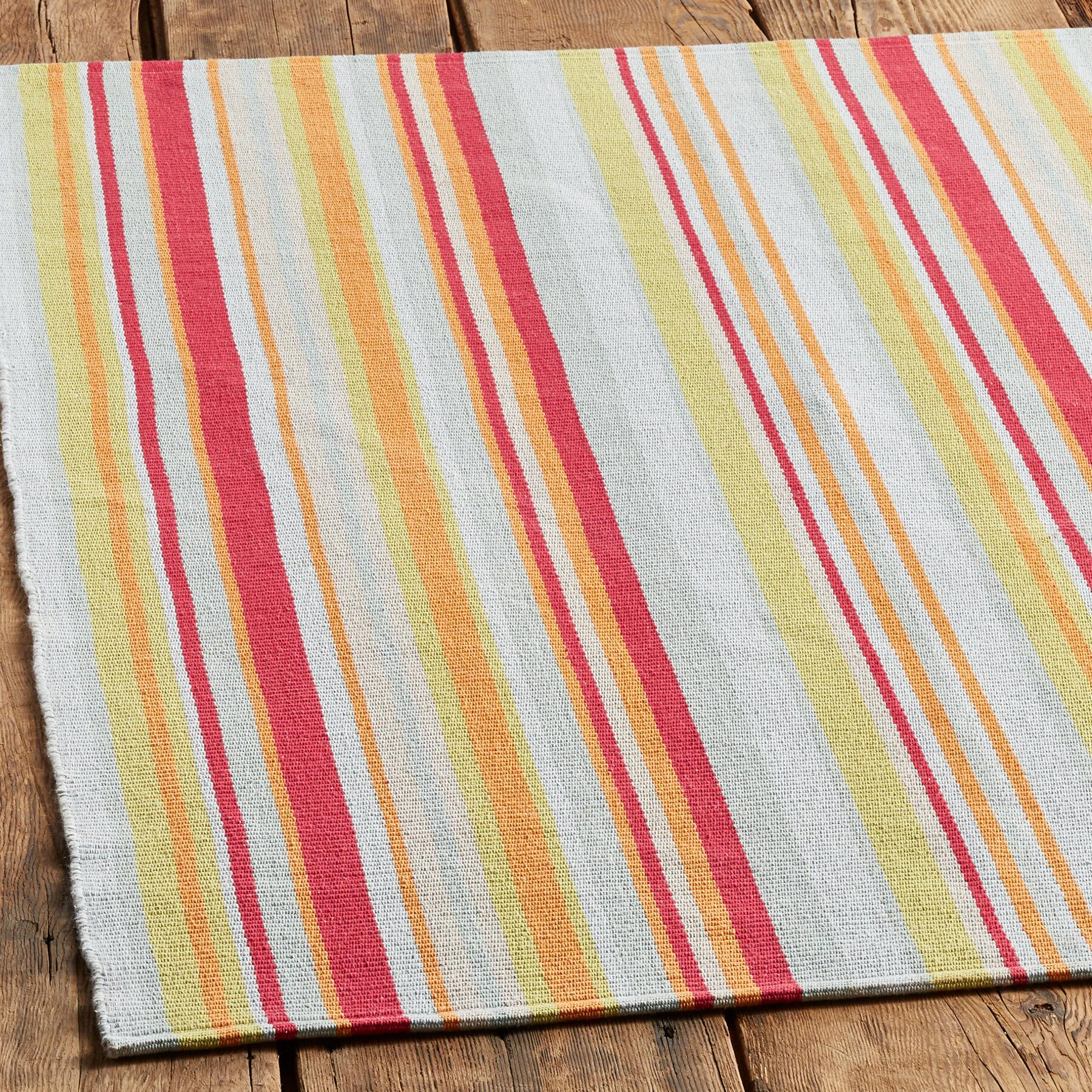 SANTA CLARA STRIPE RUG, LARGE: View 2