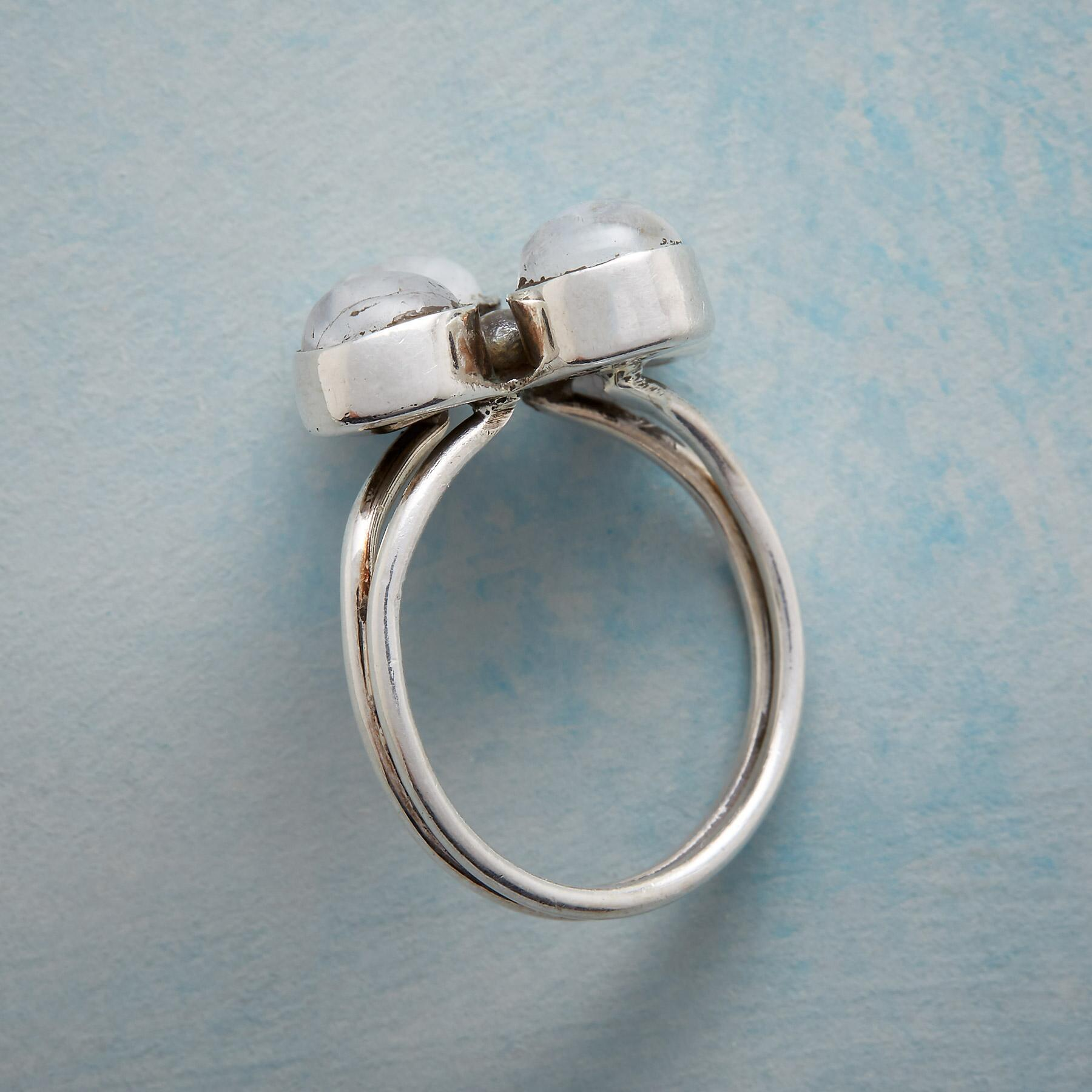 MOONSTONE QUARTET RING: View 2