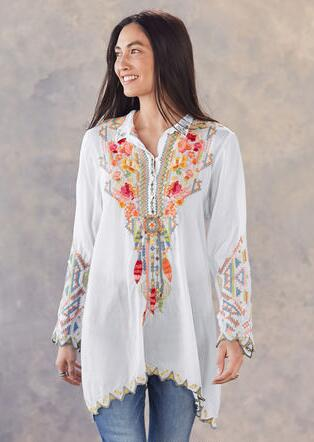 FLOWER SPIRIT TUNIC