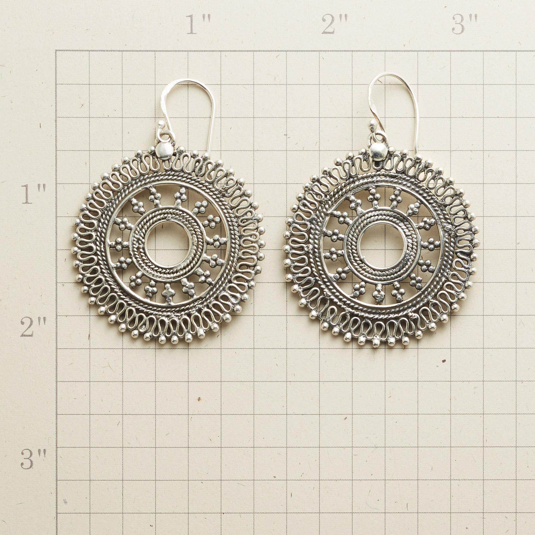 MERRY MANDALA EARRINGS: View 2
