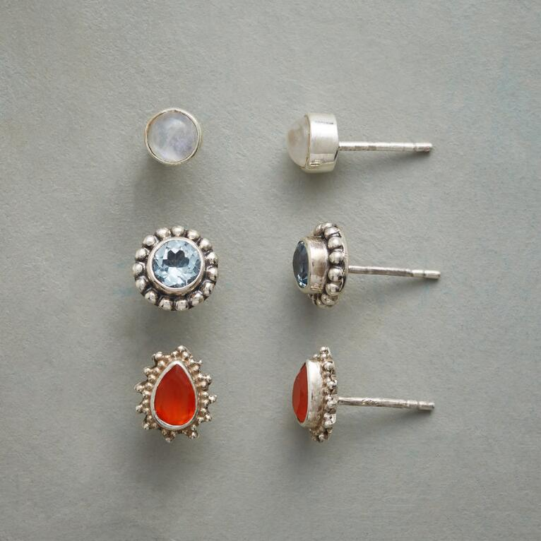 SUN, MOON & STARS EARRING TRIO