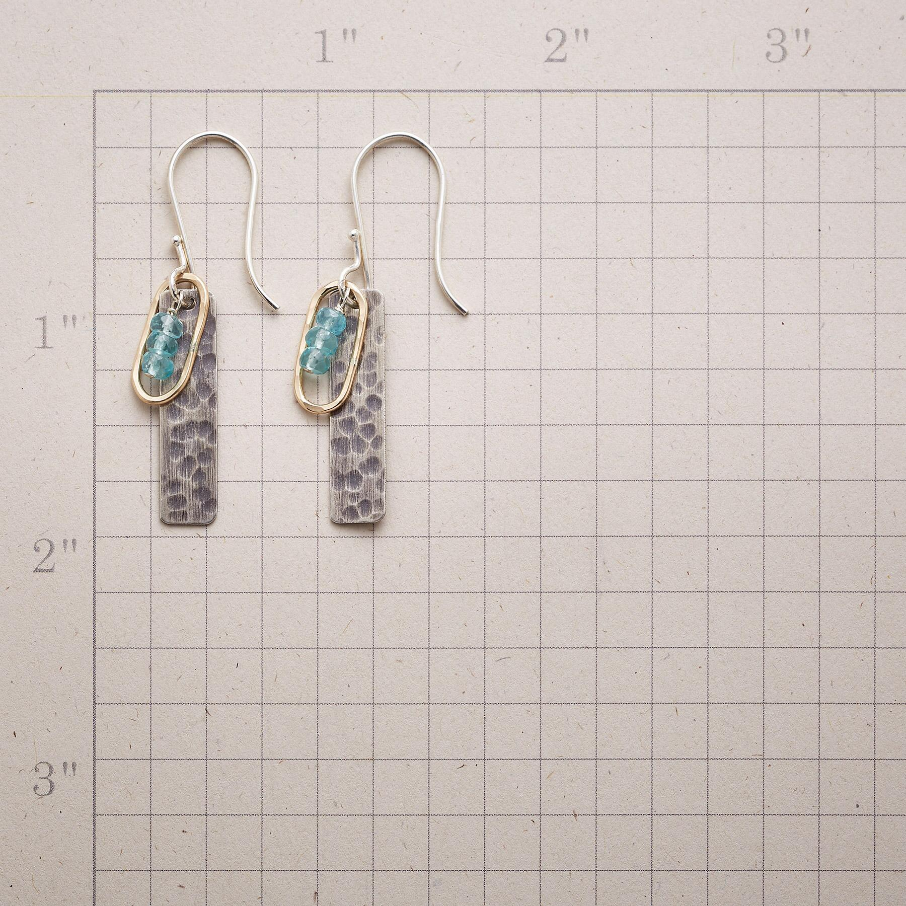 NESTLED TRIO EARRINGS: View 2