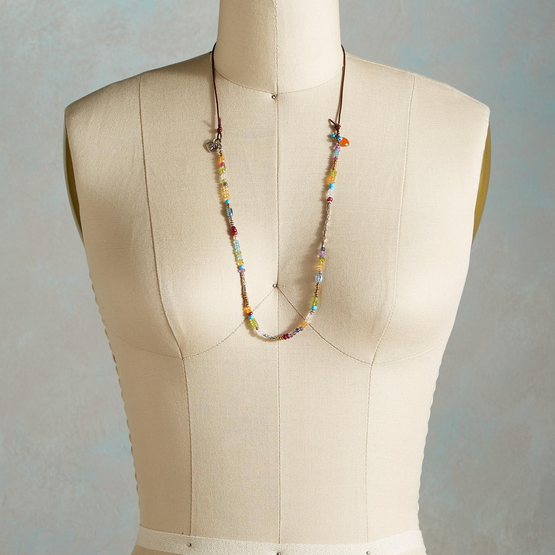 Rainbow Spectrum Necklace | Robert Redford's Sundance Catalog