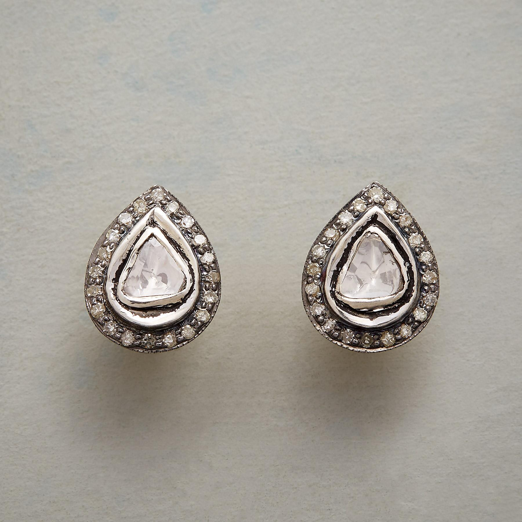 LODESTAR DIAMOND EARRINGS: View 1