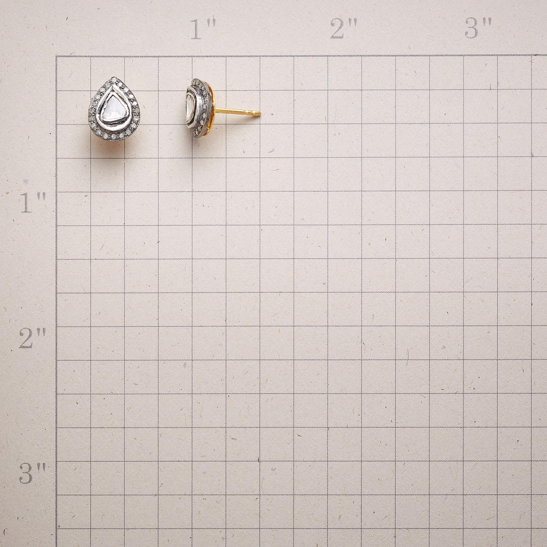 LODESTAR DIAMOND EARRINGS: View 2