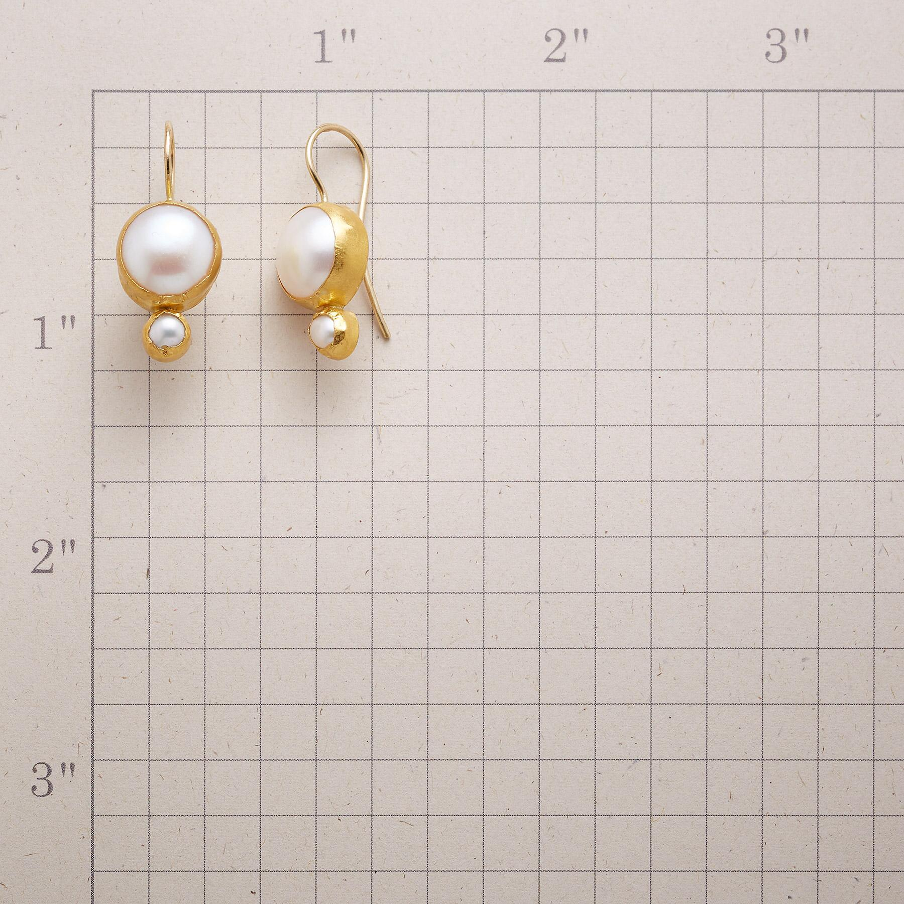 BRIDAL PEARL EARRINGS: View 2