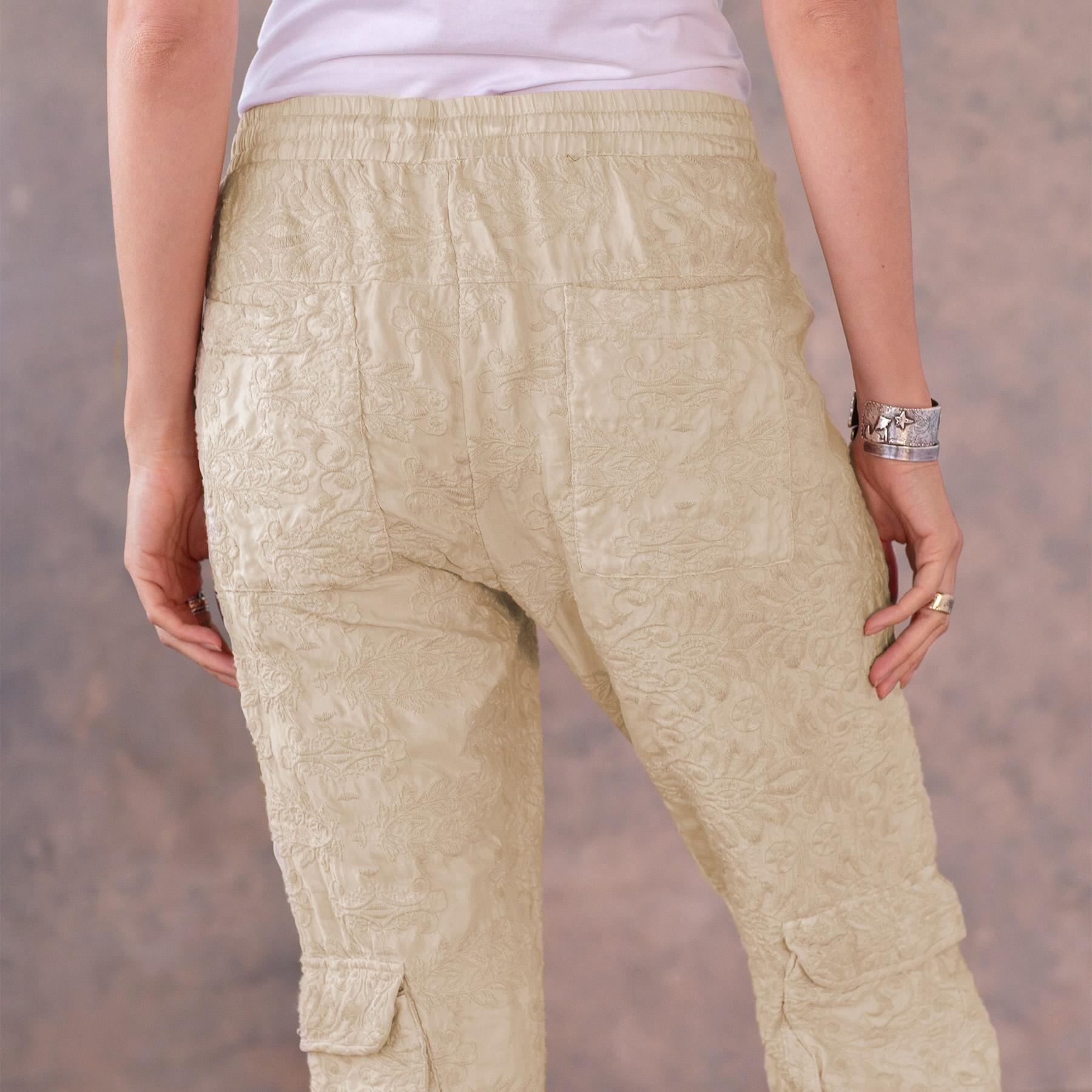 BLYTHE EYELET PANTS: View 5