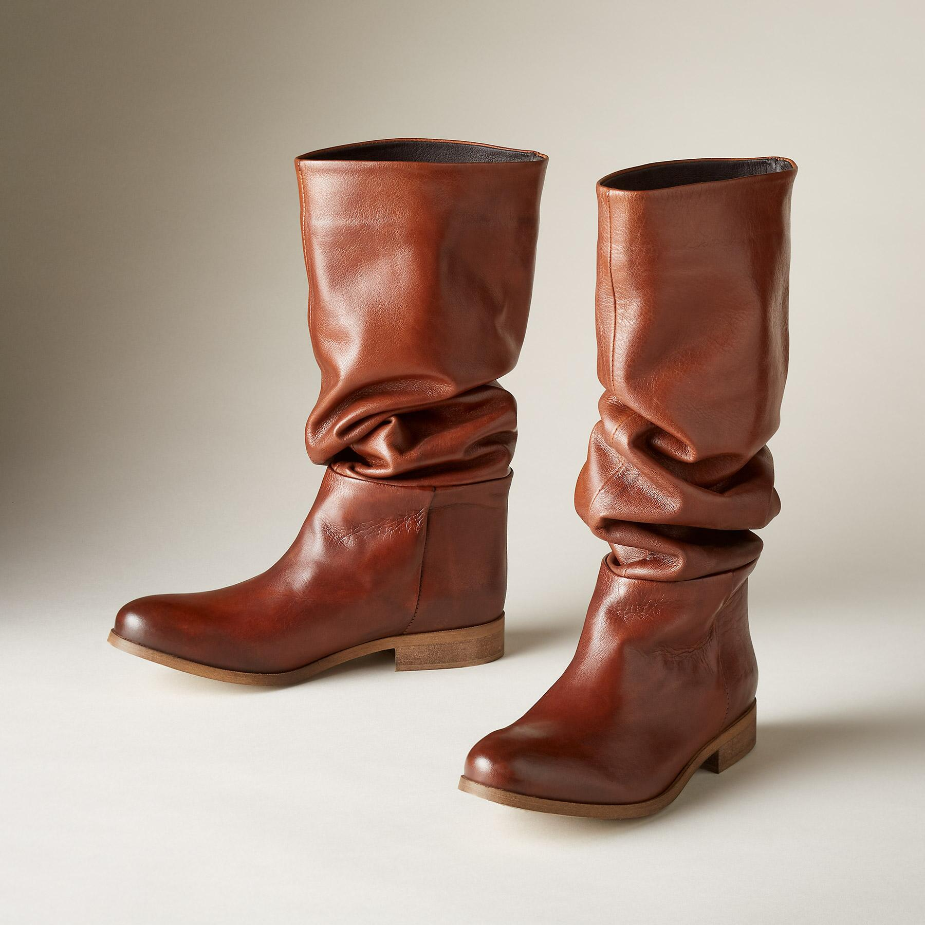 HEARTLAND SLOUCHED BOOTS: View 1