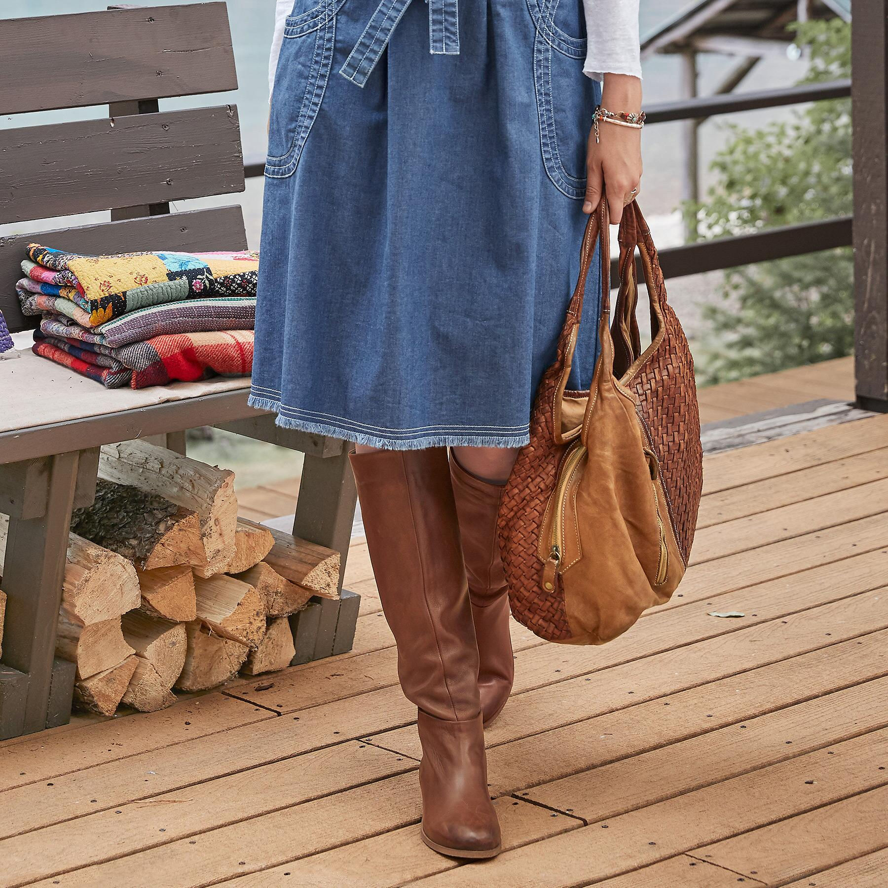 HEARTLAND SLOUCHED BOOTS: View 2