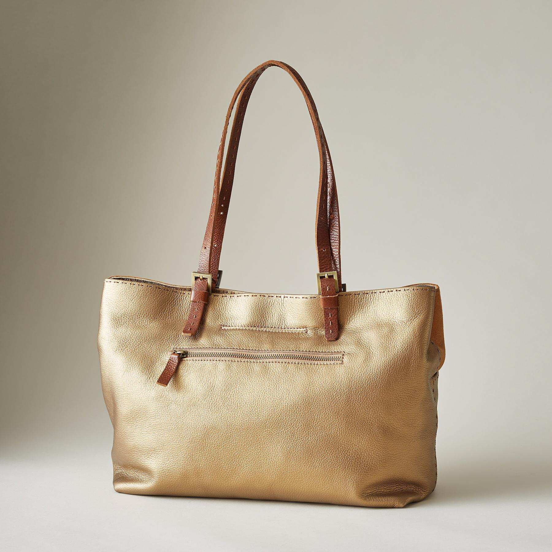 DUNE LEATHER TOTE: View 2