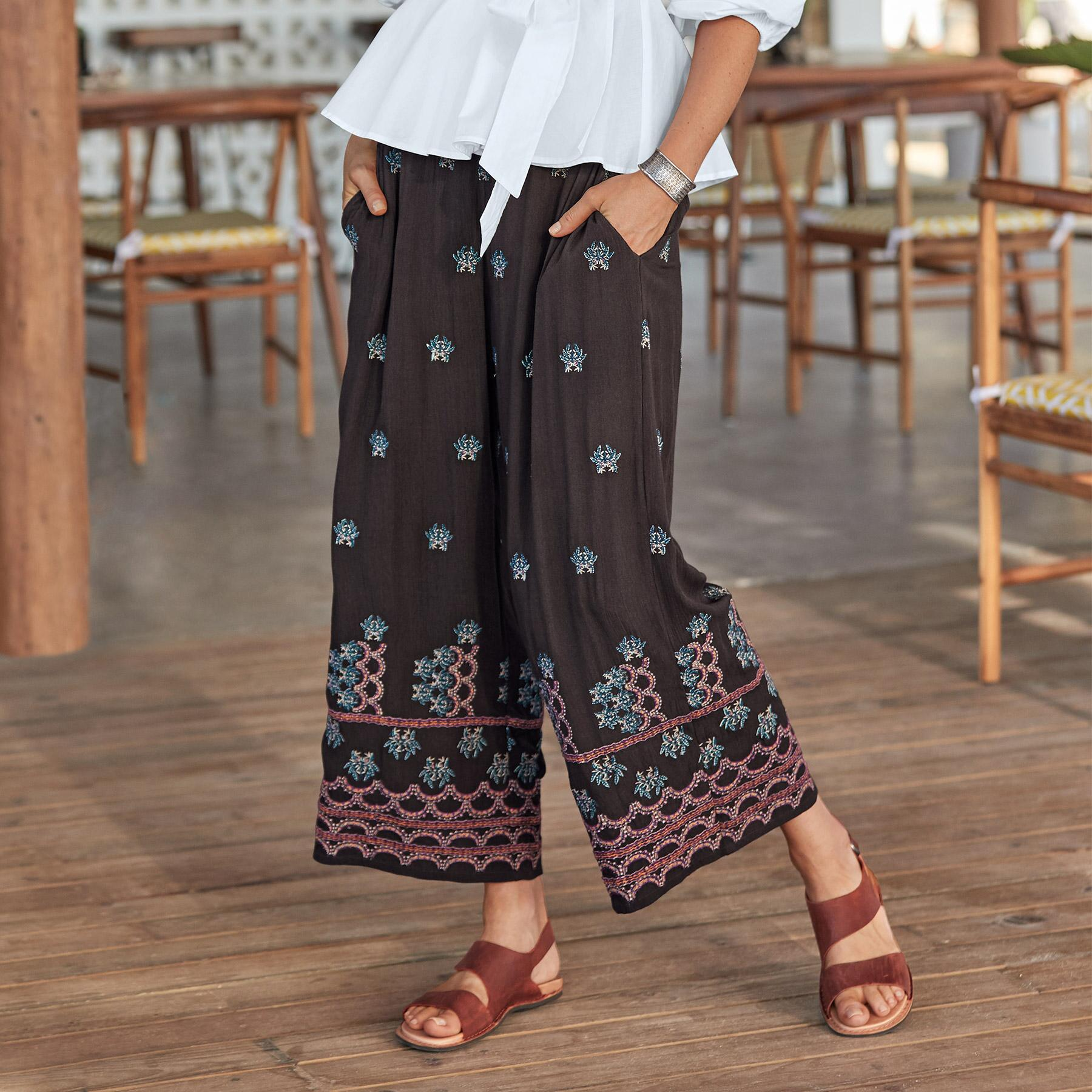 MIA EMBROIDERY CULOTTES - PETITES: View 1