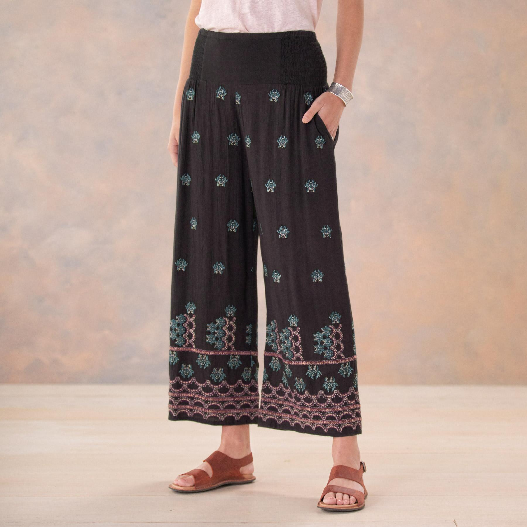 MIA EMBROIDERY CULOTTES - PETITES: View 2