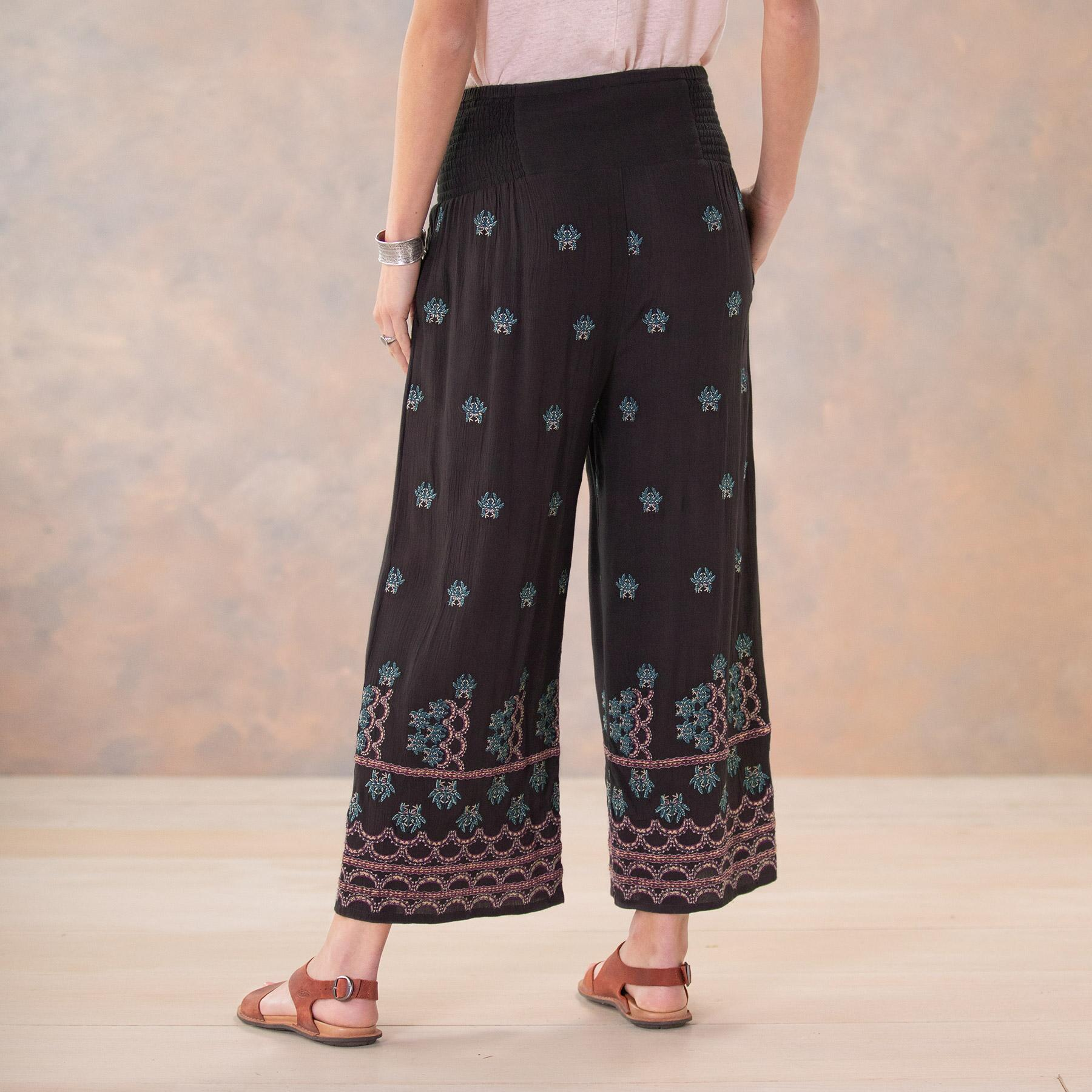 MIA EMBROIDERY CULOTTES - PETITES: View 3