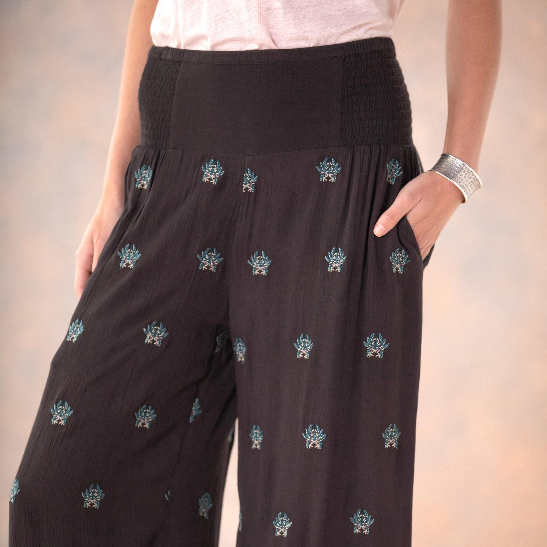 MIA EMBROIDERY CULOTTES - PETITES: View 4