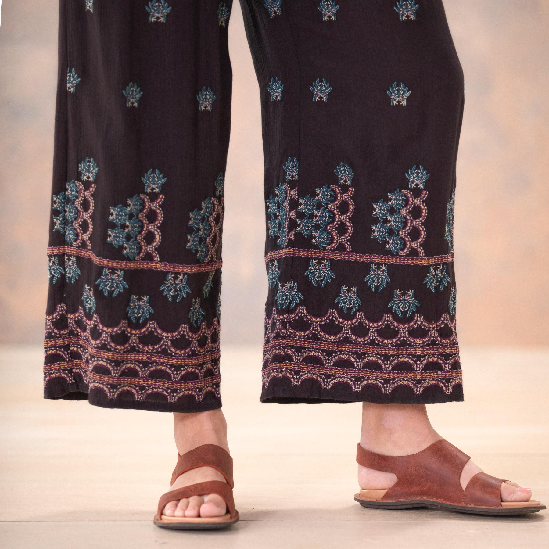 MIA EMBROIDERY CULOTTES - PETITES: View 5