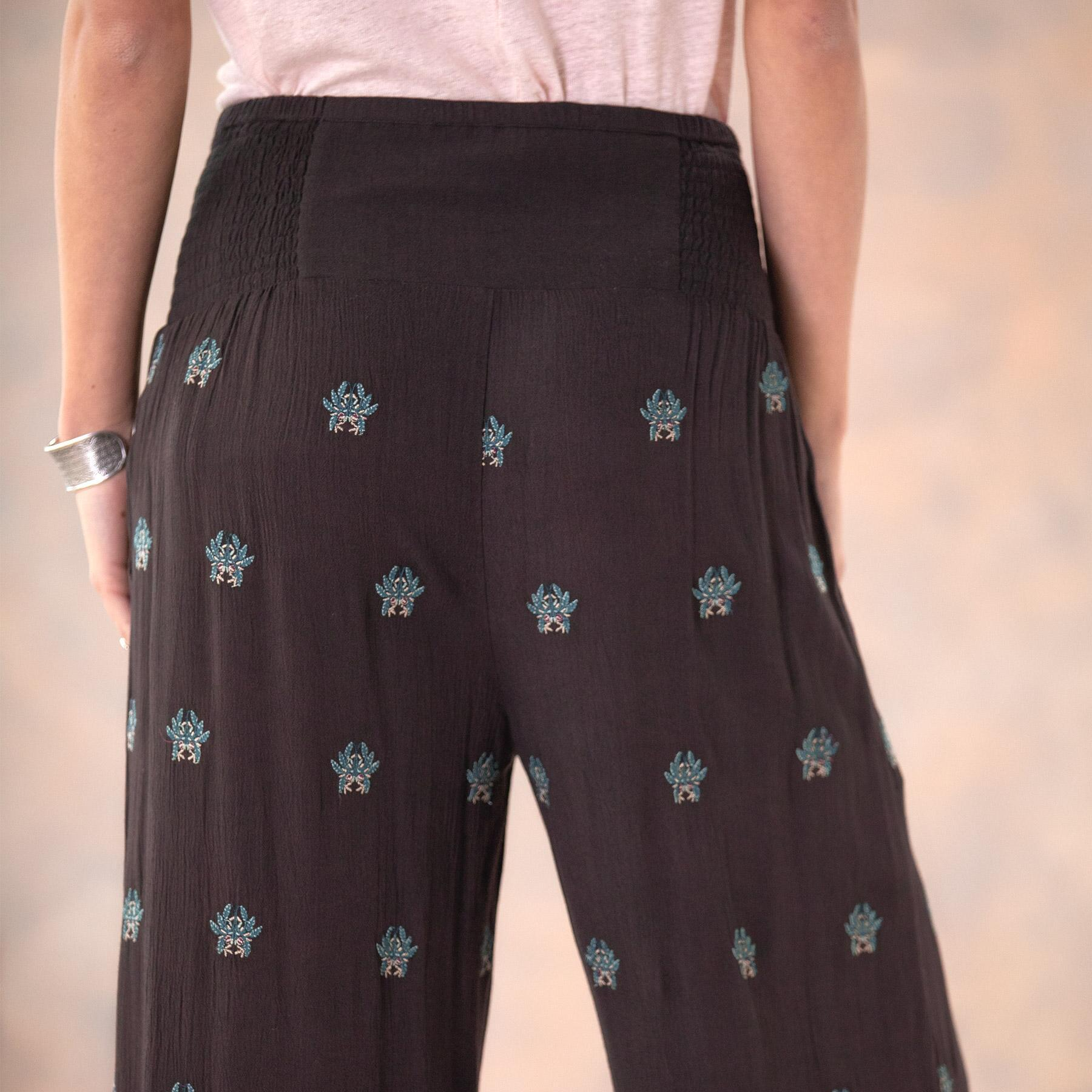 MIA EMBROIDERY CULOTTES - PETITES: View 7