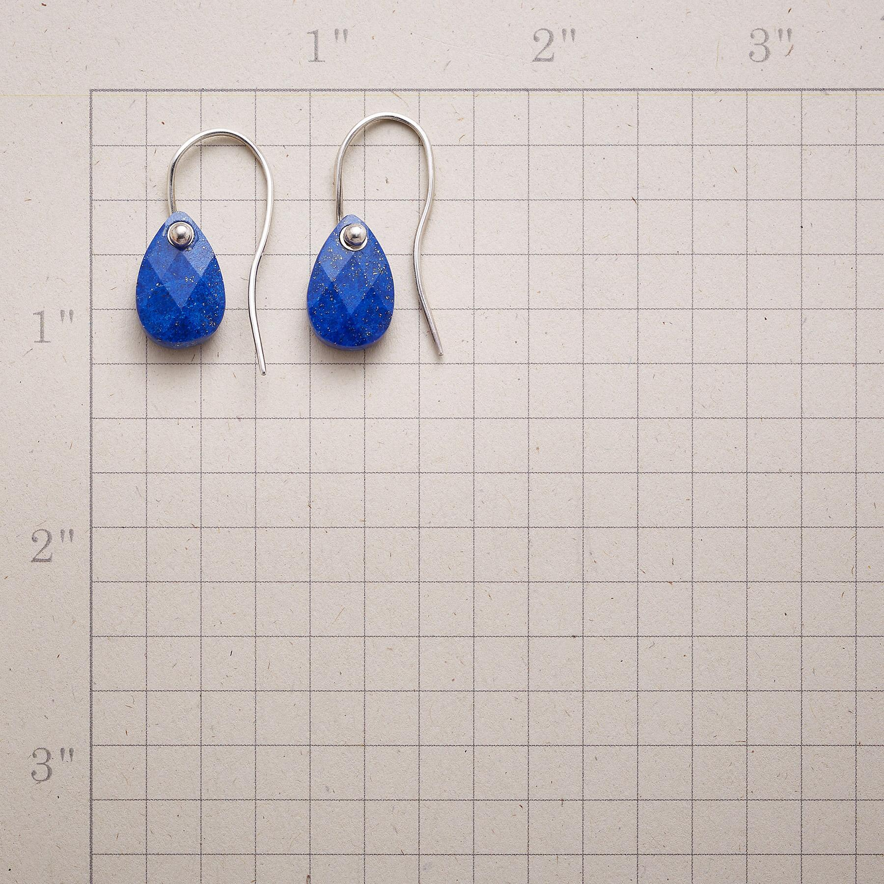 BLUE LAGUNA EARRINGS: View 2