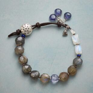 HUES OF BLUE BRACELET