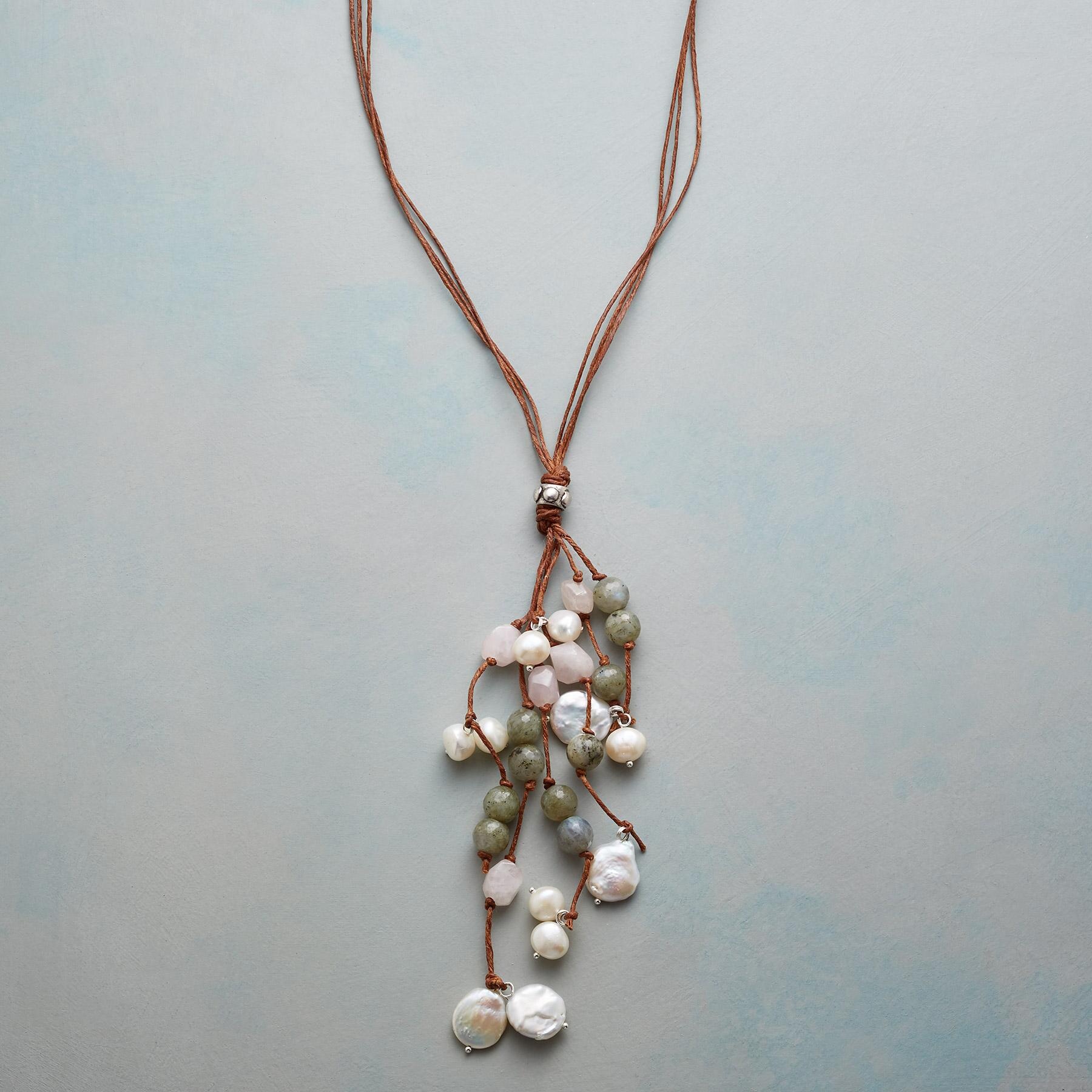 DAPPLED PEARLS NECKLACE: View 1