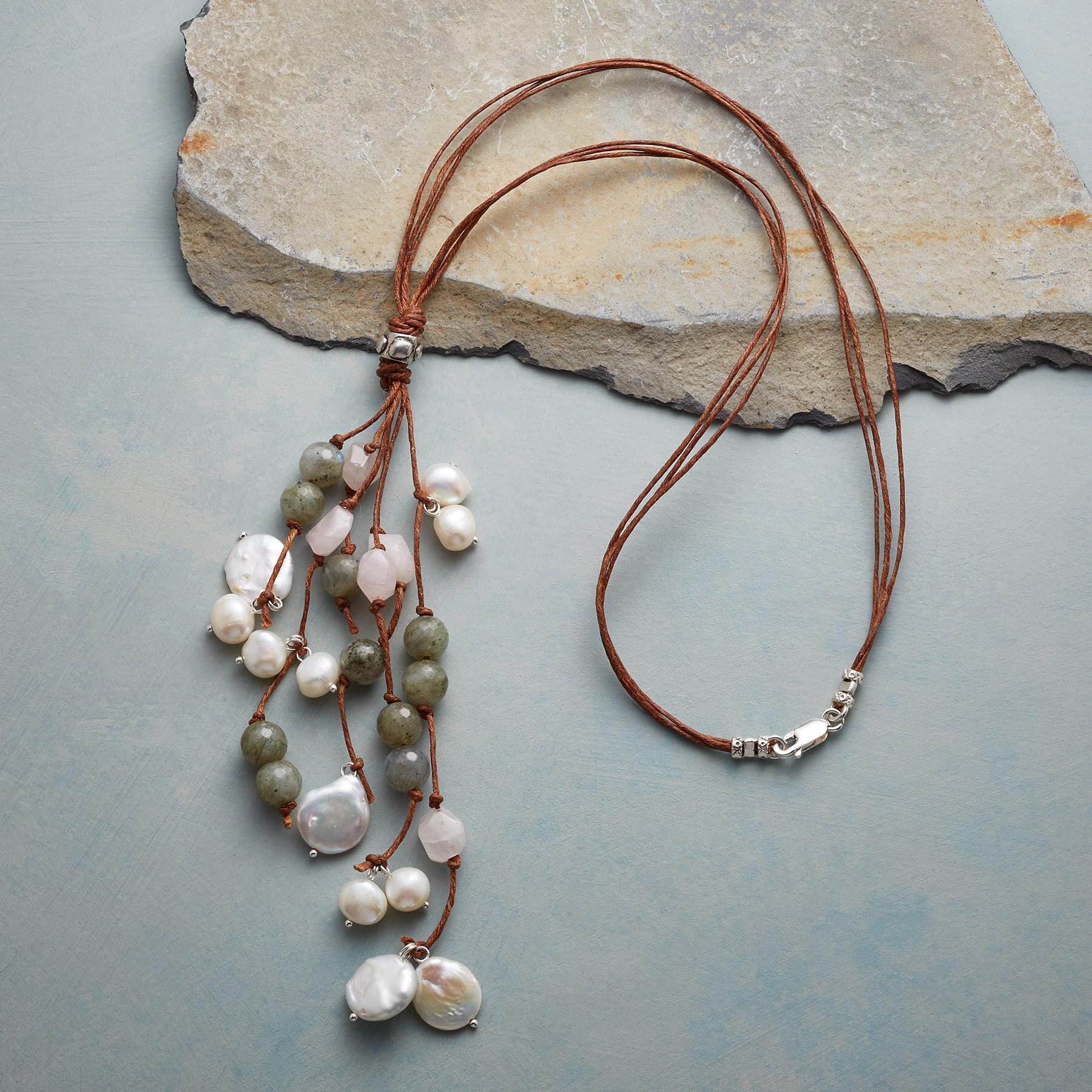DAPPLED PEARLS NECKLACE: View 2