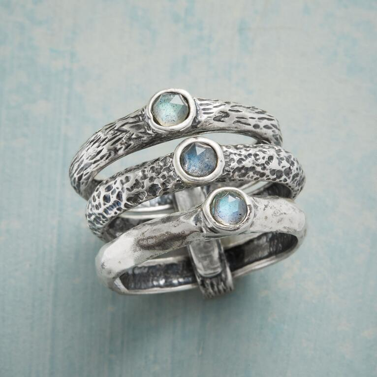 RICHLY TEXTURED RING