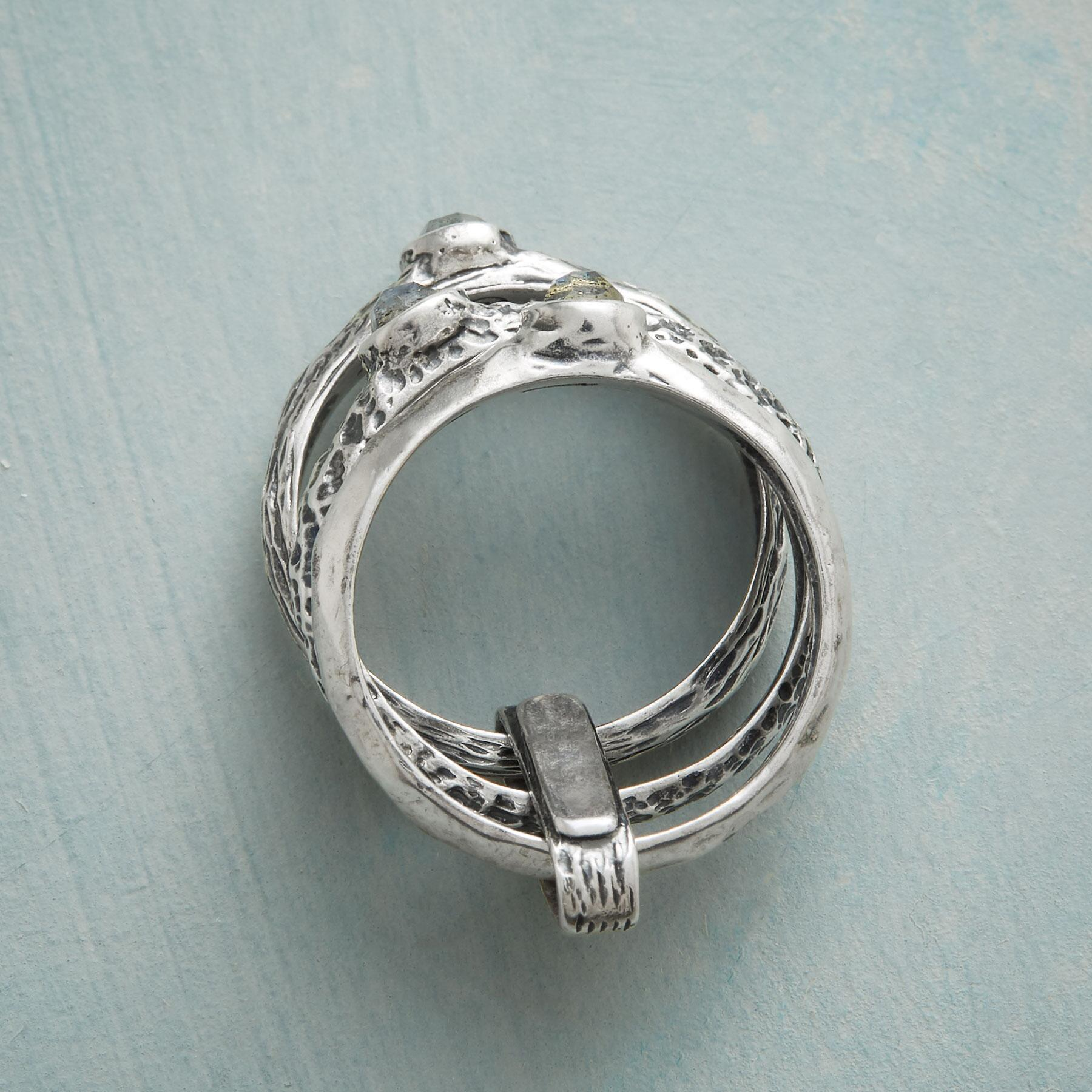 RICHLY TEXTURED RING: View 2
