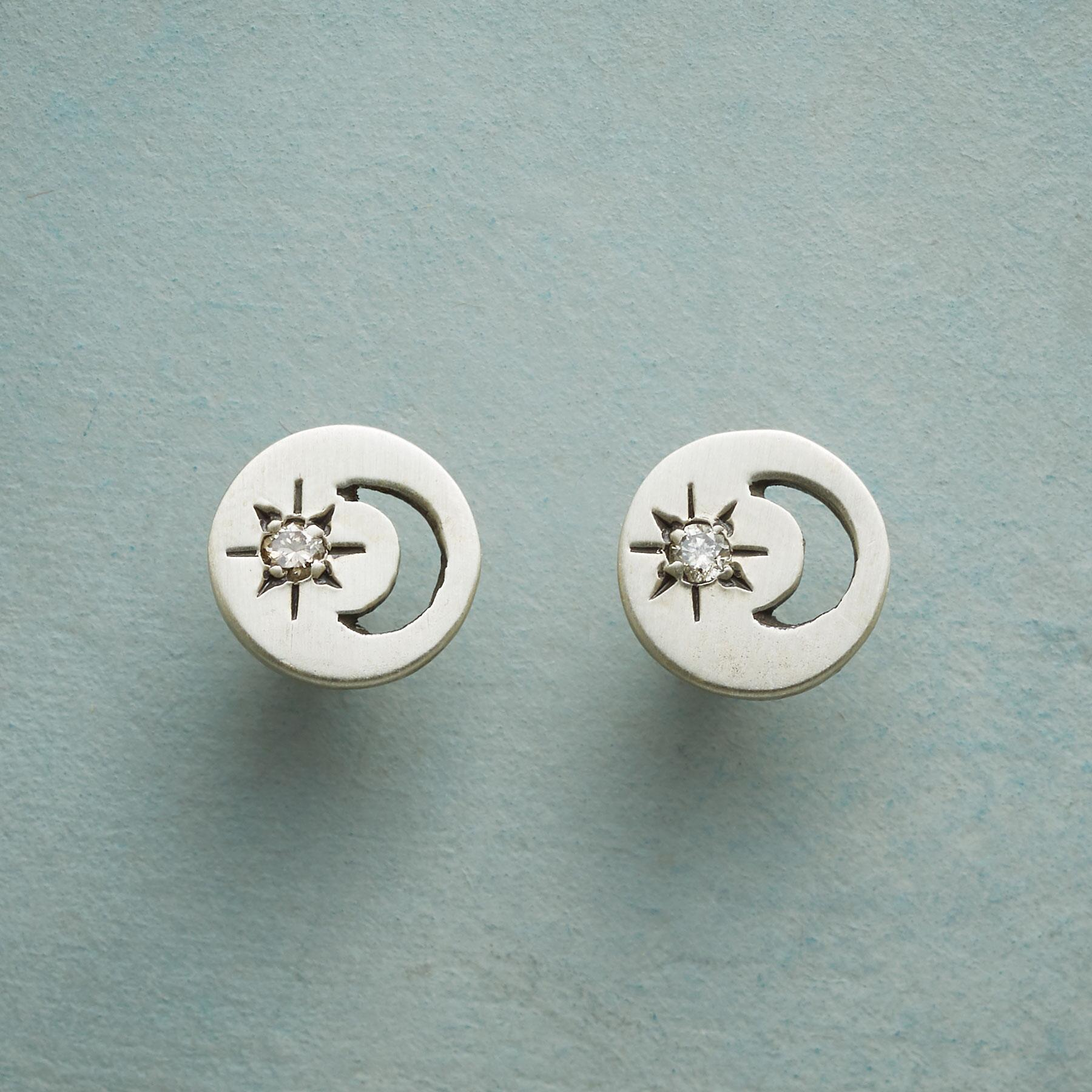 MOON AND SHINE EARRINGS: View 1